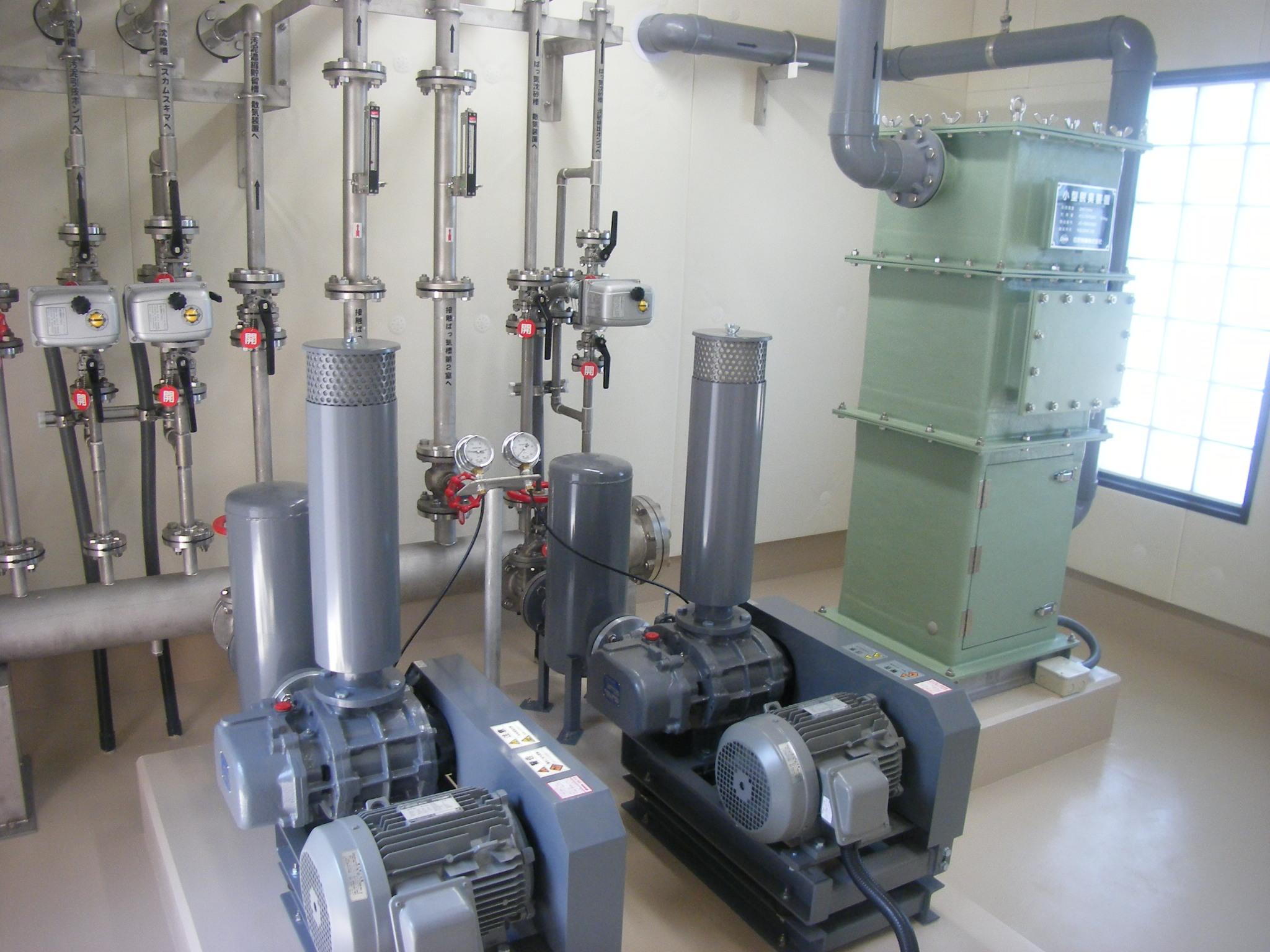 塩津地区漁業集落排水整備事業汚水処理施設建設工事(その2)