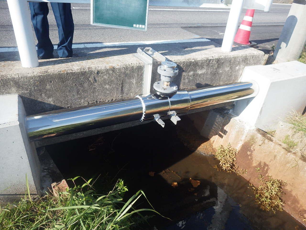 灘分町下出来洲配水管布設替工事