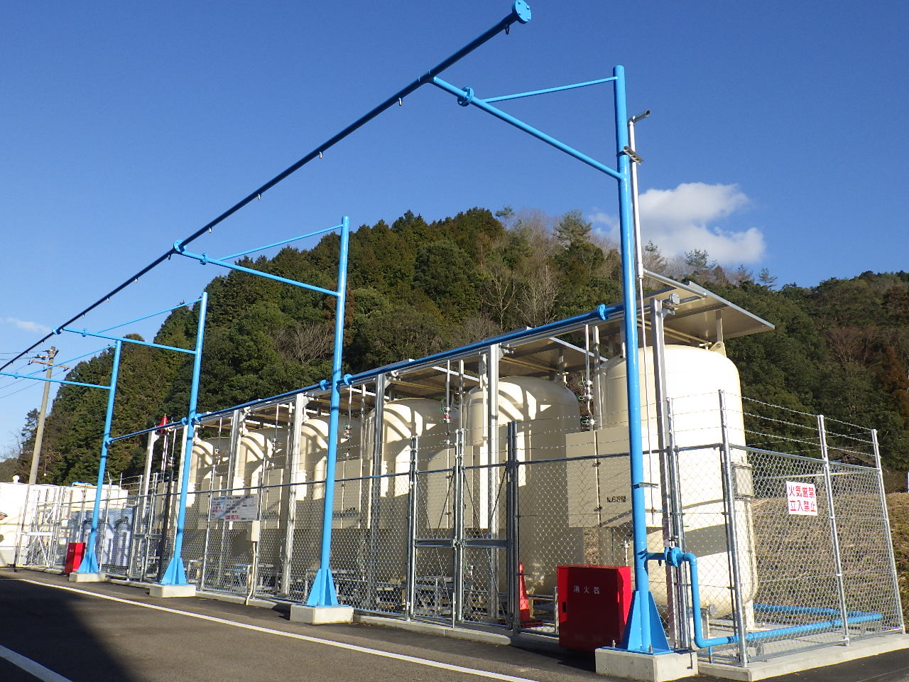 (社)清風会 吉田工場 LPG供給設備工事